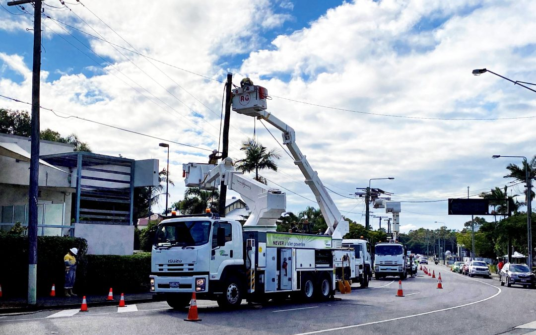 Energex urges Logan drivers to take extra care after close calls around traffic worksites