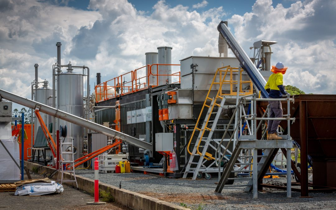 Logan Council turns waste into energy in Australian-first