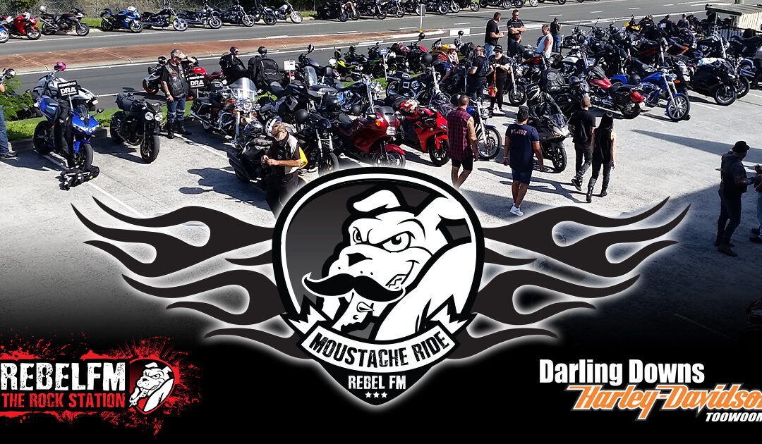 Logan motorcyclists get ready! Ride with Rebel FM for 'Movember'
