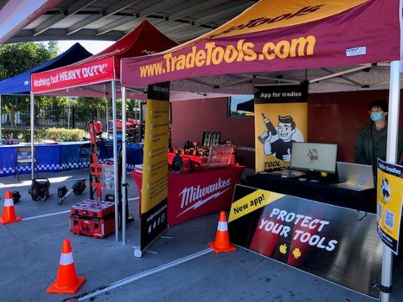 Tradesmen learn how to protect their tools from thieves