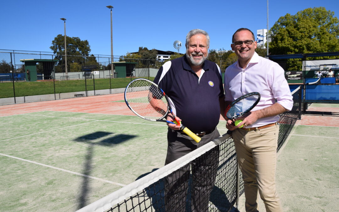 A study says tennis players live ten years longer