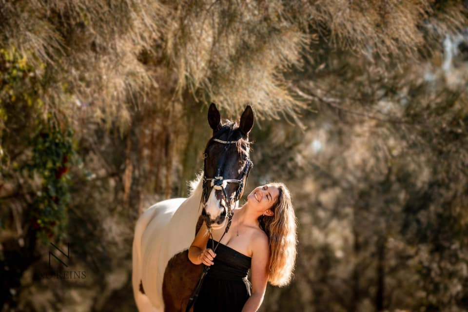Passionate horse rider wakes from induced coma after car crash