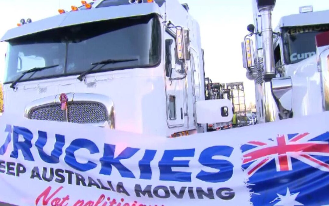 Truck protest causes massive M1 congestion south of Logan City