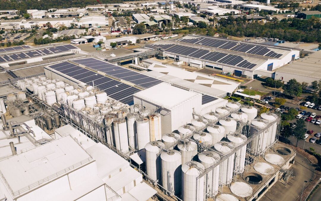Australia's biggest brewery at Yatala south of Logan City is now using solar power