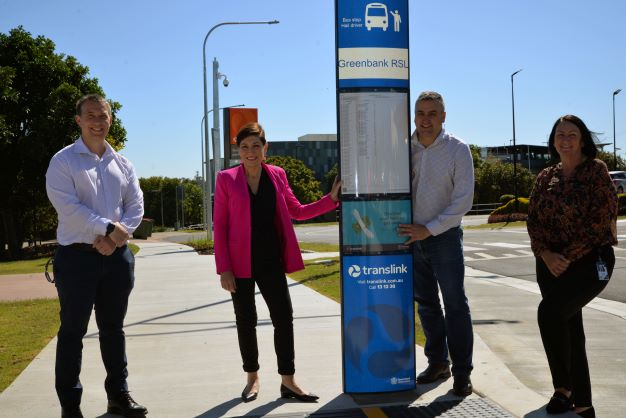 Greenbank park 'n' ride makes it easier to use public transport