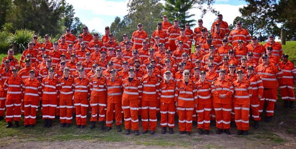 Logan SES recognised for their efforts during SES Week