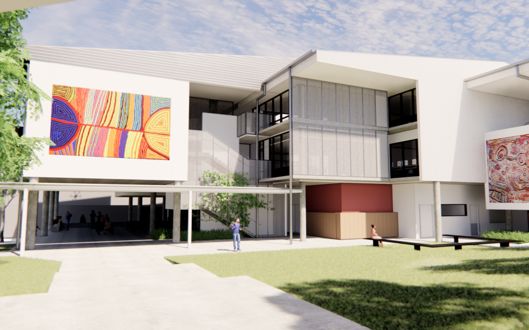 Construction powering ahead on cutting-edge STEM precinct at Mabel Park State High School